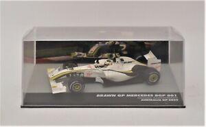 1/43  Altaya  Brawn Mercedes BGP 001 # 23 Rubens Barrichello 2009 Australian GP