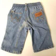 Vintage Wrangler Kids Baby Jeans Denim Butt Patch Size 6 Months
