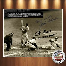 Jackie Robinson Autographed Signed 8x10 Photo PREMIUM REPRINT