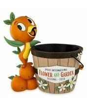 EPCOT 2020 Flower And Garden Festival Disney Orange Bird Plant Pot Planter Parks