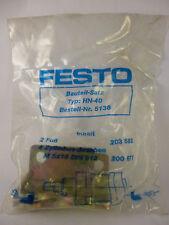 Festo HN-40 5136 Befestigung für Zylinder Pneumatik Neu OVP