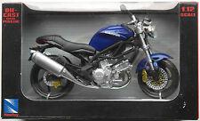 NEWRAY-CAGIVA RAPTOR 1000 BLU 1:12 Nuovo/Scatola Originale MOTO MODELLO