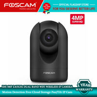 Foscam R4S 4MP 2.4/5GHz Dual-Band WiFi Home Security IP Cameras Indoor Wireless