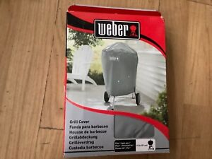 Weber 7176 BBQ Grill Cover Grey Fits 57cm Charcoal Grills Barbecue BNIB