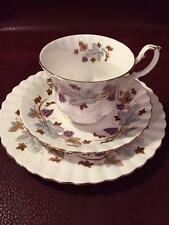 "BEAUTIFUL ROYAL ALBERT ""LORRAINE"" CUP, SAUCER & PLATE TRIO ENGLAND"