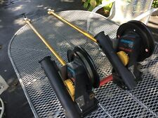 2 Penn Fathom Master 620 Downriggers Excellent Used Condition with swivel mounts