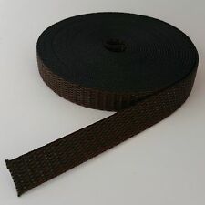 Roller Shutter Belt Webbing Band Width 0.7in 11.5ft Brown Winder Blind