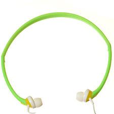 Sport in-ear Auriculares Banda para el cuello auricular para teléfono MP3 MP4 Ipod Iphone-Verde