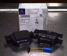 OEM GENUINE MERCEDES BENZ REAR BRAKE PADS W/ SENSOR 16-UP W205 C450 C43 AMG