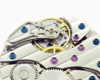 Hand Winding Watch Movement Asia Decorate For 17 Jewels Seagull Swan Neck 6497