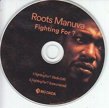 ROOTS MANUVA Fighting For 2016 UK 2-trk promo test CD