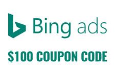 $100 bing ads credit microsoft ads coupon code