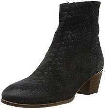 Emma Go Carter, Womens Biker Boots, Black (Snake Black) UK 5 EU 38 JS29 51