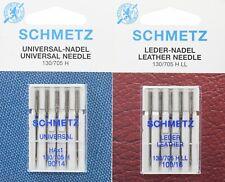 20 Schmetz Nähmaschinen Ledernadeln 0,58 € // St. Stärke 110 Flachkolben