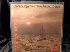V.A. - Folk Songs From The Balkaton District / Balatoni Népdalok