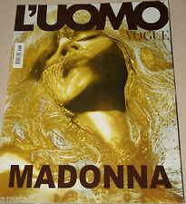 L'UOMO VOGUE MAGAZINE=2005/365=MADONNA COVER PHOTOS BY STEVEN KLEIN=