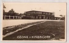 VINTAGE POSTCARD RPPC HOTEL OZONE, KINGSCOTE KANGAROO ISLAND S.A