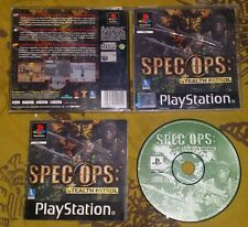 SPEC OPS STEALTH PATROL - PlayStation 1 PS1 Gioco Game Play Station