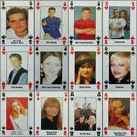 Fridge Magnet (FB6) Playing Card Live + Kicking Magazine Pop Star - Various