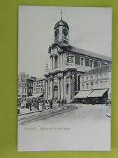 Carte postale CHARLEROI eglise de la ville haute