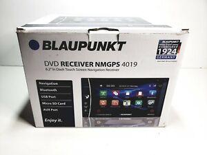 "Blaupunkt 6.2"" In-Dash Touch Screen DVD GPS Multimedia Receiver NMGPS 4019"