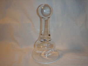 Candle Snuffer Hand Blown Glass Lantern Flame Lamp Extinguisher