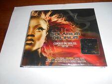 CIRQUE DU SOLEIL:  SOLARIUM / DELIRIUM CD, 2005 NEW Y-Fold* Sealed + I Ship Fast