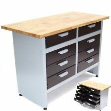 Werkbank Werktisch Schubladen Montagewerkbank Schubladenschrank Werkzeug 3 Typen