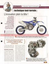 Technique / Technologie : Tout Terrain Joe Bar Team Fiche Moto #007299