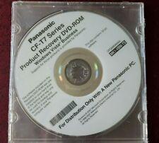 Panasonic Toughbook  CF-T7 Series Windows Vista Business -RECOVERY Backup DVD