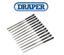NUEVO Draper 12 Pieza 140mm Aguja Set de limas Joyero Joyería Modelado 82640