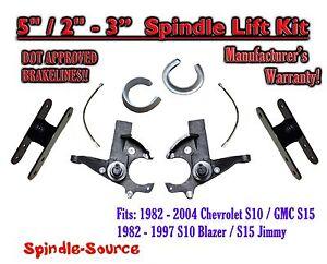 "1982 -05 Chevrolet S-10 S10 GMC S-15 Sonoma Blazer 5"" / 2-3"" Lift Kit Brakelines"