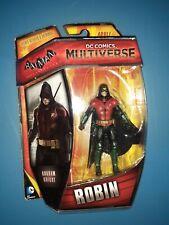 "New Mattel DC Comics Multiverse Batman Arkham Knight Robin 3.75"" Figure FP20"