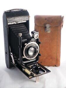 Zeiss Ikon Icarette 500/15 6.5 x 11 cm camera, CZJ Tessar 12 cm f/4.5 lens, 116