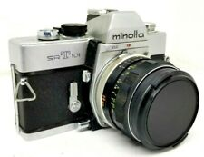 Minolta SRT101 35mm with a Rokkor-SG 1:3.5 28mm lens Very Clean