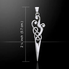 Viking Urnes .925 Sterling Silver Pendant by Peter Stone