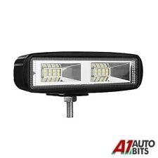 72w 6 Inch Led Work Flood Light Spot Driving Drl Lamp Bull Bar Car Off Road