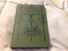 Elements Of Agriculture Southern & Western 1912