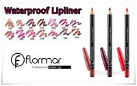 Flormar WATERPROOF LIPLINER Classic Flawless Lip Pencil Different Colors