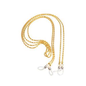 Fashion Sunglasses Lanyard Strap Necklace Metal Eyeglass Glasses Chain CorN HB