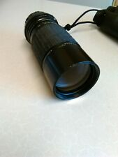 Vintage Sigma Zoom-K 100-200mm f/4.5 Lens & Case - Olympus OM Mount (1872)