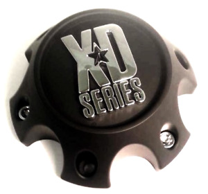 KMC XD Matte Black 6 Lug Center Cap for (Dodge/Nissan) XD796/XD797/XD798 Wheels