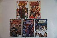 House of Avengers #1-5 1 2 3 4 5 COMPLETE Run Lot Set MARVEL COMICS