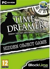 TIME DREAMER Hidden Object PC Game NEW