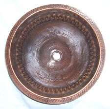 46 Mexican Copper Sink Handmade Bathroom Sinks 18""