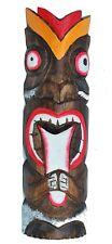 Tiki Maske 50cm Motivmaske Gesicht streckt Zunge raus Osterinsel Look
