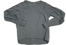 GROCERIES APPAREL ~ WOMEN'S GRAY  ORGANIC  LS  TEE  ~ SIZE MEDIUM  NEW  USA