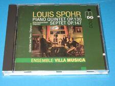 Ensemble Villa musica/Spohr: piano Quintet raccogli 130, Septet raccogli 147-CD