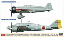 Hasegawa 1/72 Mitsubishi Ki-15 Type 97 BABS / 100 Dinan RECO Avion Kit Modélisme