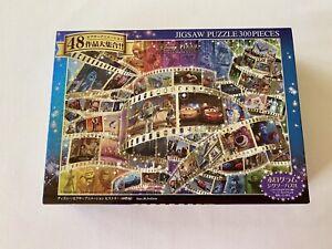 Tenyo Disney Pixar Animation History 300 Piece Jigsaw Puzzle Complete